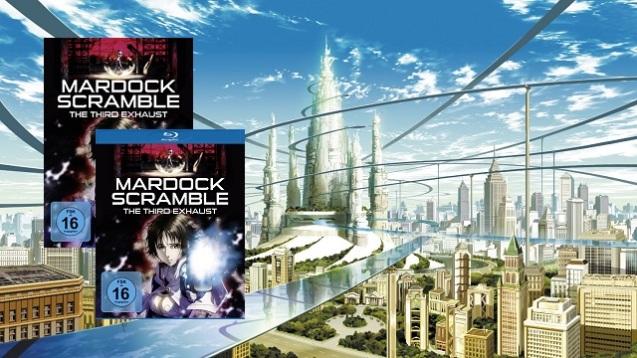 Mardock Scramble - The Third Exhaust (Gewinnspiel) (1)