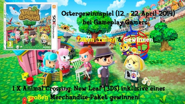 Animal Crossing Ostergewinnspiel (1)