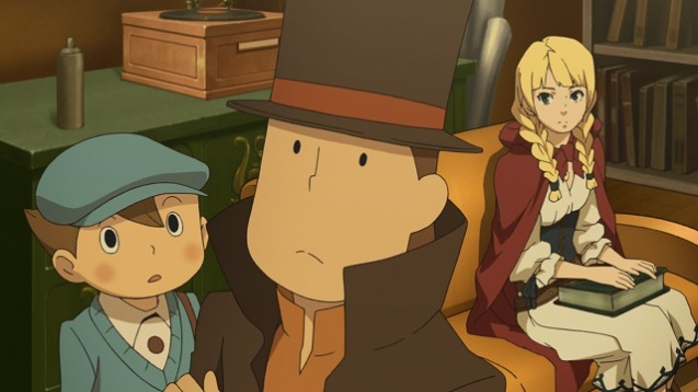 Professor Layton vs. Phoenix Wright - Ace Attorney (2)