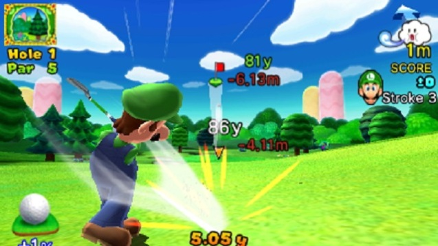 Mario Golf - World Tour (2)