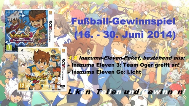 Inazuma Eleven Gewinnspiel Juni 2014 (1)