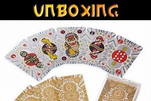 Mario Premium Playing Cards (Unboxing) (Vorschaubild)