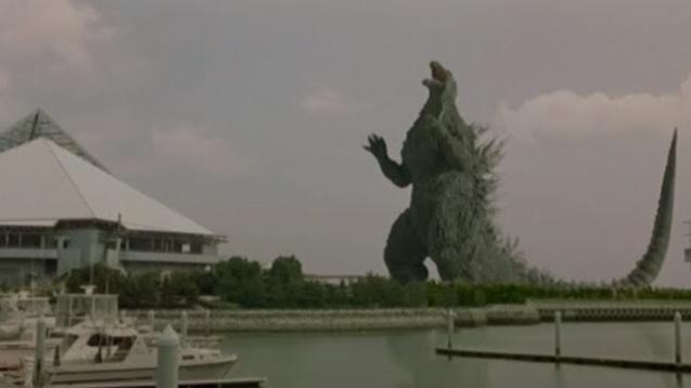 Godzilla against Mechagodzilla (1)