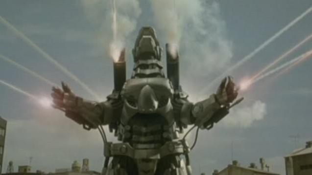 Godzilla against Mechagodzilla (4)