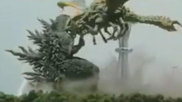 Godzilla vs. Megaguirus (2)