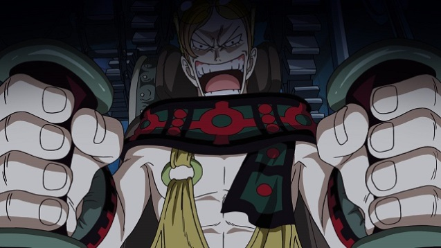 One Piece - Schloß Karakuris Metall-Soldaten (4)