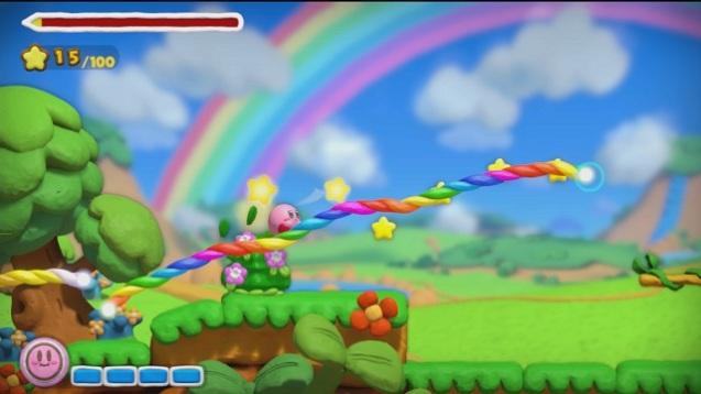 Kirby und der Regenbogen-Pinsel (2)