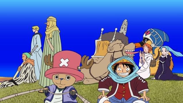 One Piece - Abenteuer in Alabasta - Die Wüstenprinzessin (4)
