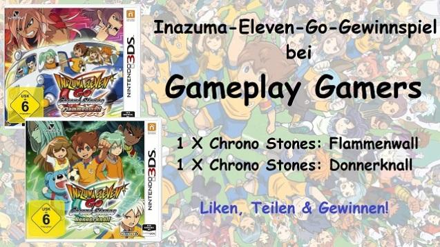Gewinnspiel Inazuma Eleven Go - Homepage